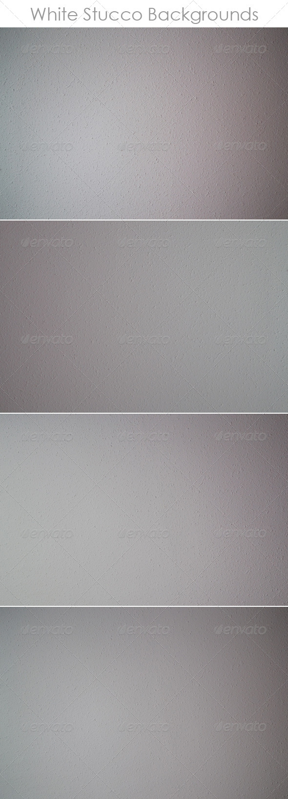 GraphicRiver White Stucco Backgrounds 8340044