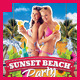 Summer Sunset Beach Party Flyer - GraphicRiver Item for Sale