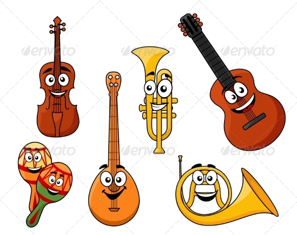 GraphicRiver Set of Musical Instruments 8340237