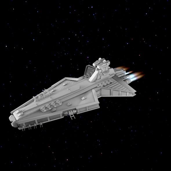 3DOcean Klon ship 8340260