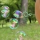 Little Girl Making Bubbles - VideoHive Item for Sale