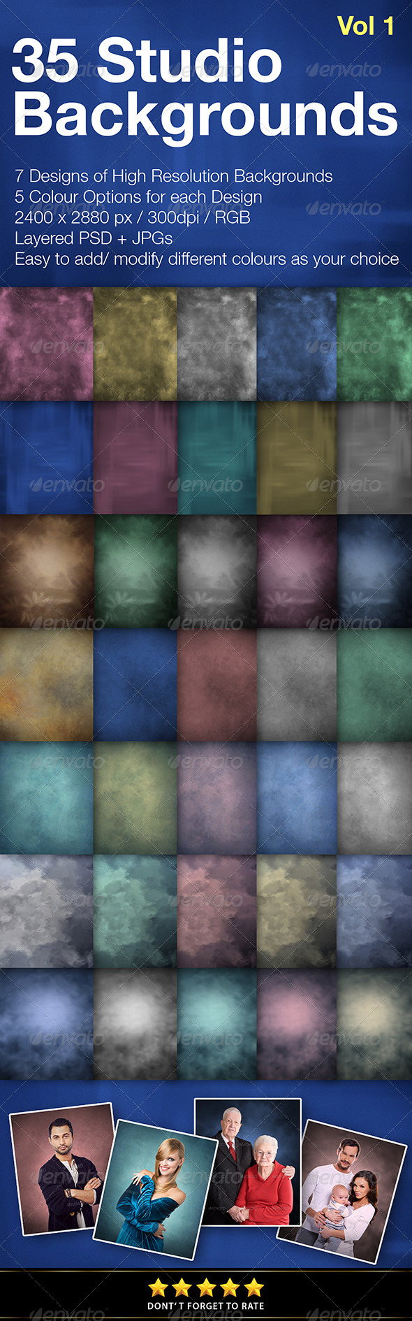 35 Studio Backgrounds