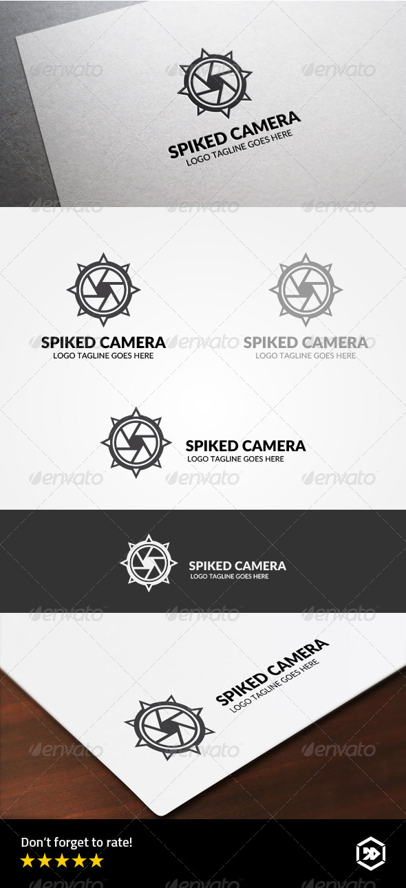 GraphicRiver Spiked Ball Camera 8340659