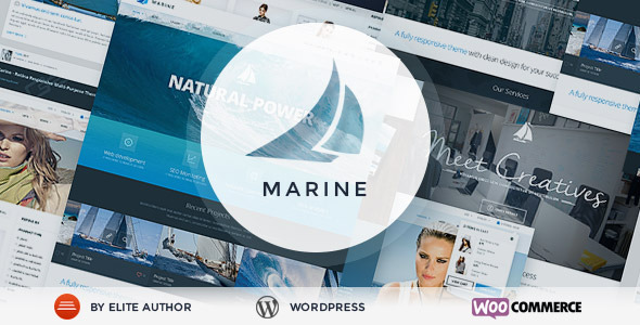 ThemeForest Marine Retina Responsive Multi-Purpose Theme 7741798