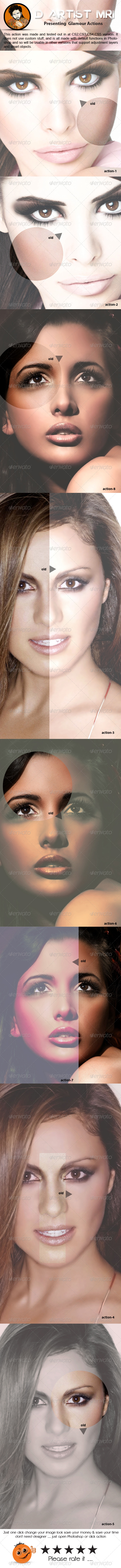 GraphicRiver Glamour Actions 8340689