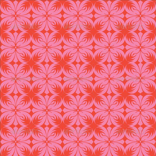 Seamless Batik Background