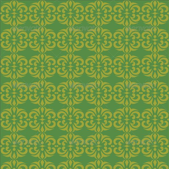 GraphicRiver Seamless Batik Background 8340745