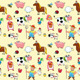 Farm Animals with Background - GraphicRiver Item for Sale