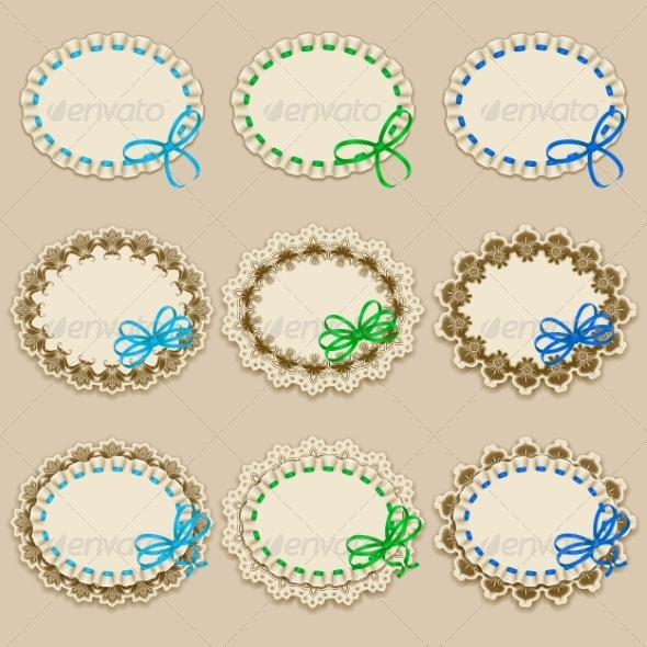 GraphicRiver Set of Elegant Templates Frame Design 8343340