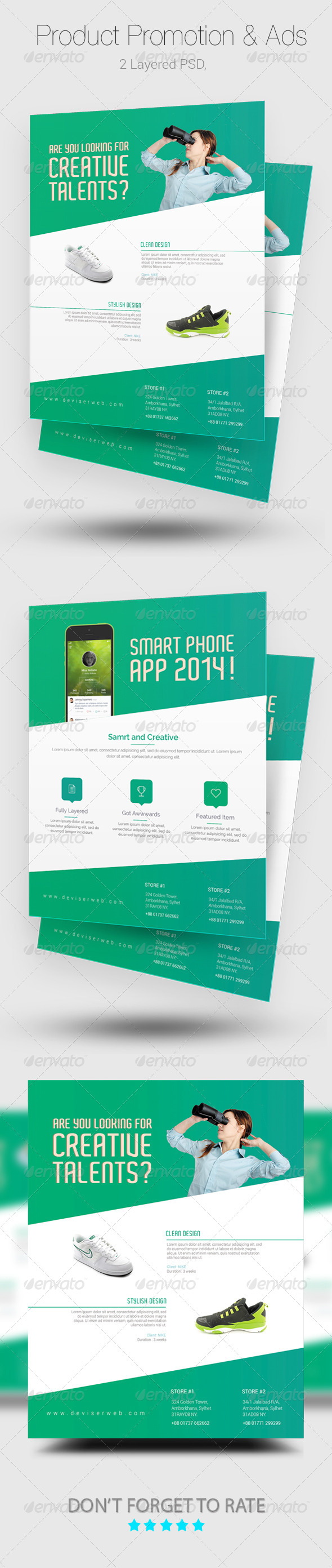 GraphicRiver Product Promotion Flyer & Magazine Ads 8335457