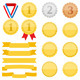 Medals and Ribbons - GraphicRiver Item for Sale