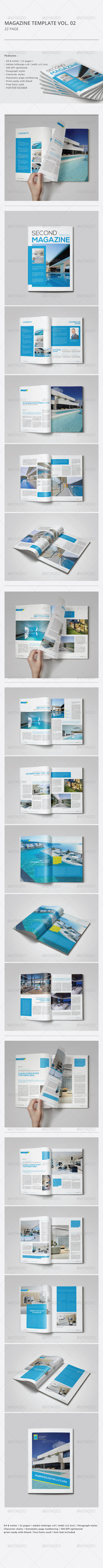 GraphicRiver Indesign Magazine Template Vol.02 8343666