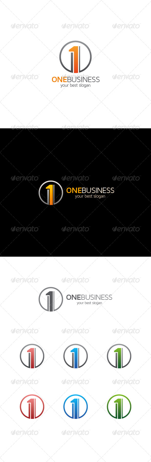 GraphicRiver Number One Logo 8324352
