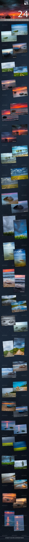 GraphicRiver 24 Pro Landscape Lightroom Presets 8343823