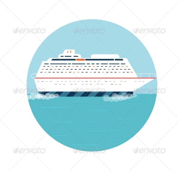 GraphicRiver Cruise Ship 8343873