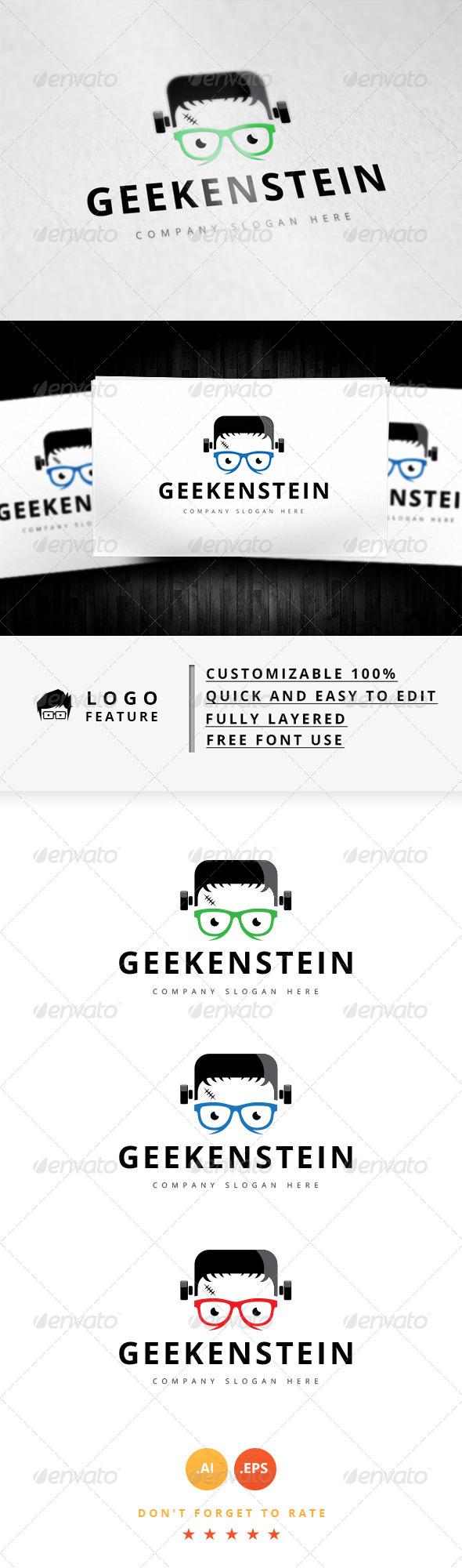 GraphicRiver Geek Logo V.6 8344029