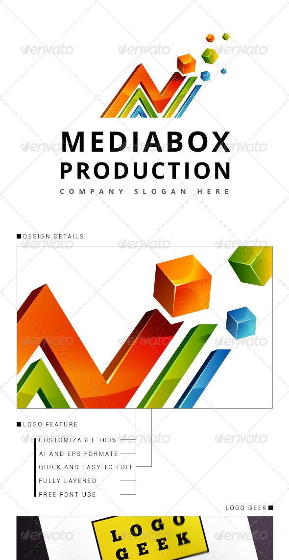 GraphicRiver Media Logo 3D 8344038