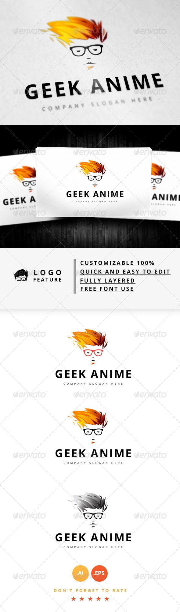 GraphicRiver Geek Logo V.7 8344084