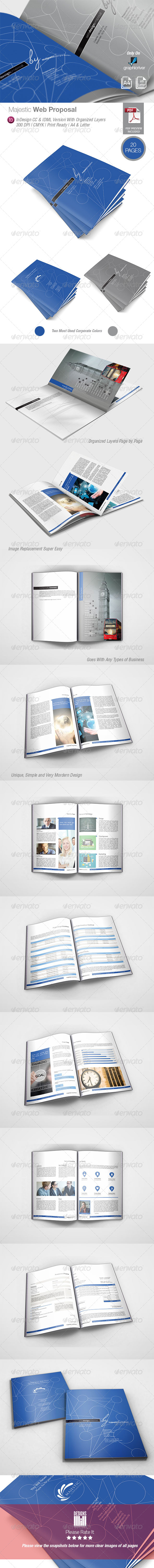 GraphicRiver Majestic Web Proposal 8345181