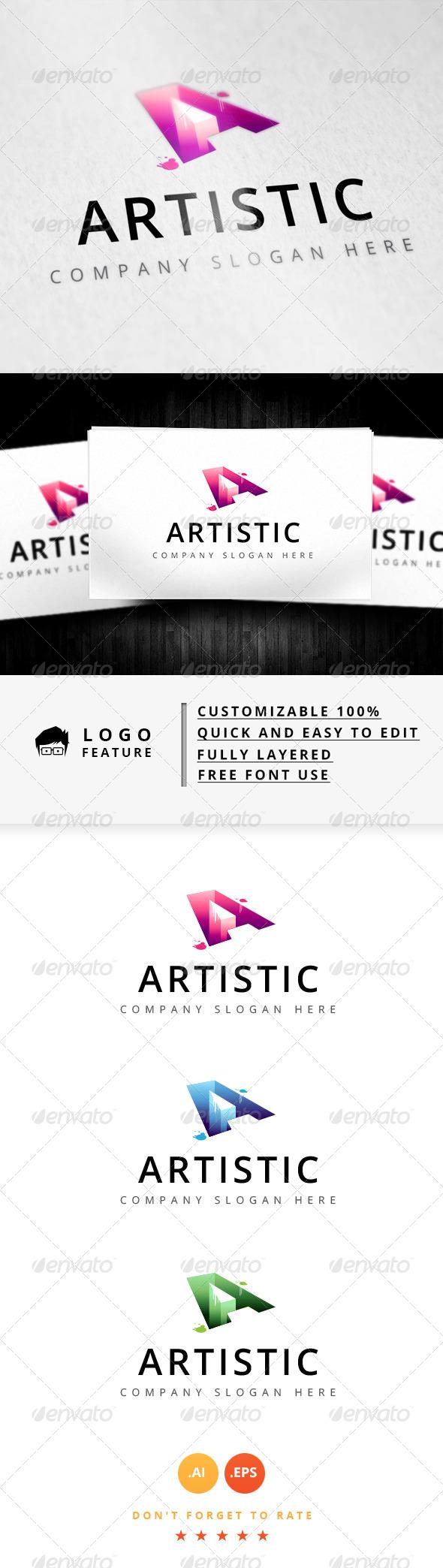 GraphicRiver Artistic Logo 8345335