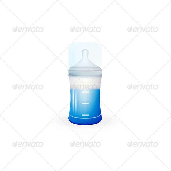 GraphicRiver Baby Feeding Bottle 8346026