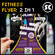 Fitness And Gym Flyer / Magazine Ads - GraphicRiver Item for Sale