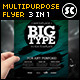 Multi Purpose Flyer Template/Magazine Ads - GraphicRiver Item for Sale
