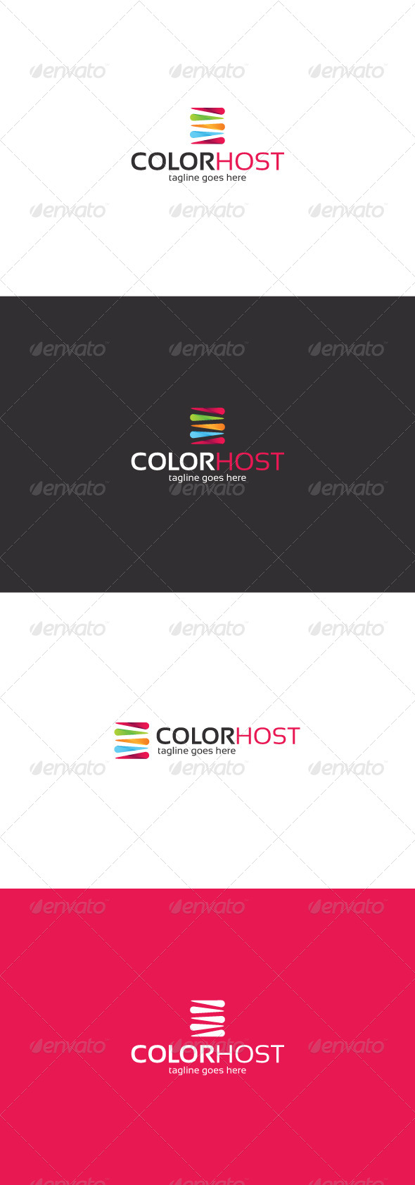 GraphicRiver Color Host Logo 8324633