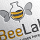 Bee Lab Logo - GraphicRiver Item for Sale