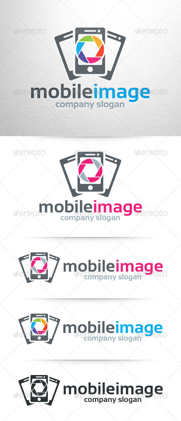 GraphicRiver Mobile Image Logo Template 8348034