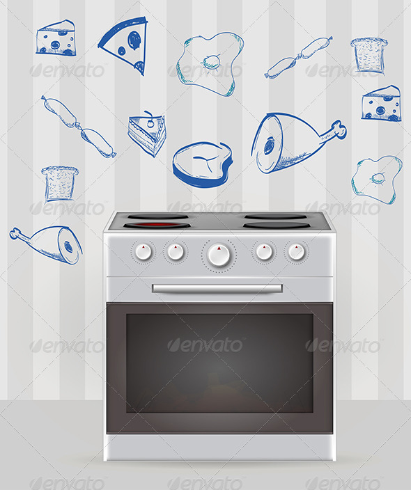 Oven Illustration