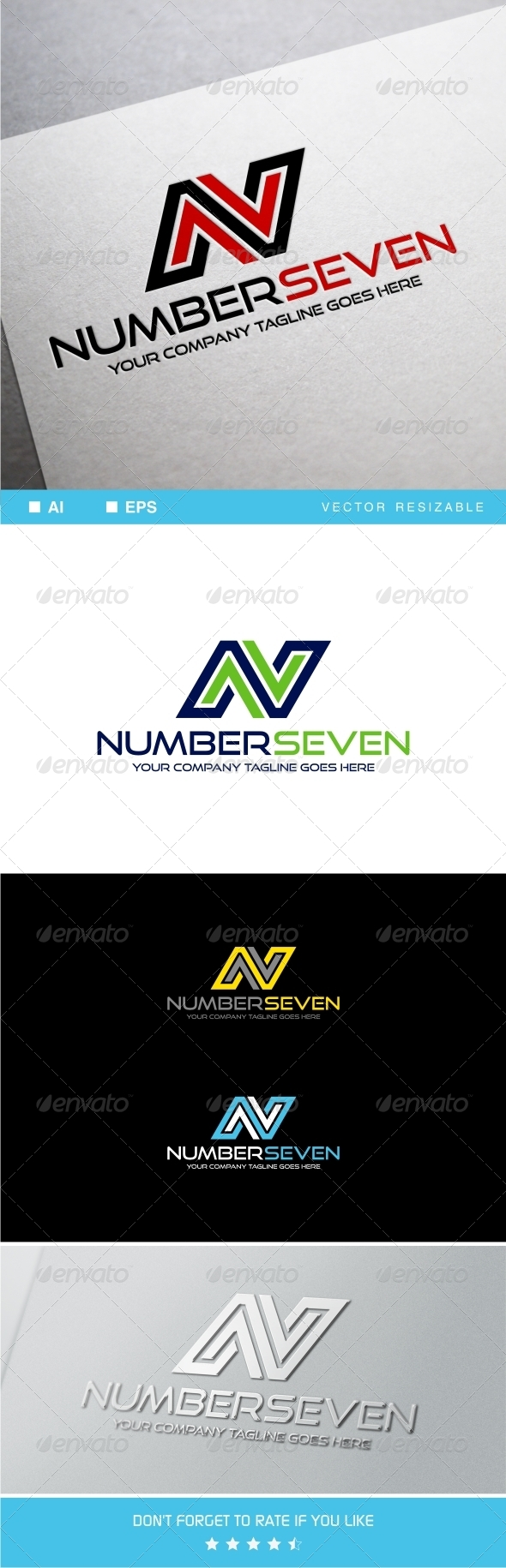 GraphicRiver N Letter Logo Template 8348063