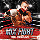Mix Fight Flyer Template - GraphicRiver Item for Sale