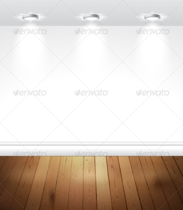 GraphicRiver Empty White Room 8348167