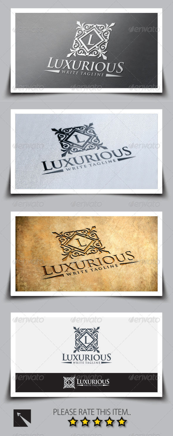 GraphicRiver Luxurious Royal Logo Template 8348279