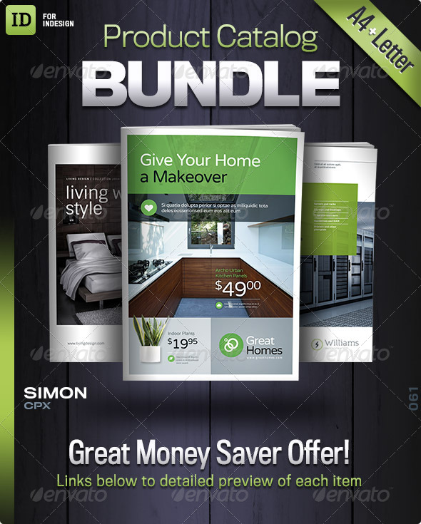 GraphicRiver Product Catalog Bundle No 1 8344222