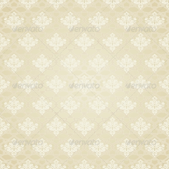 GraphicRiver Seamless Pattern in Traditional Islamic Motif 8348408