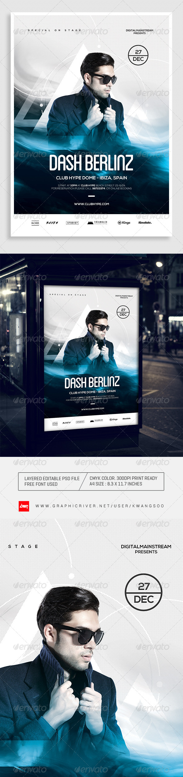 GraphicRiver Special Dj Electronic Dance Music Flyer Poster 2 8343845