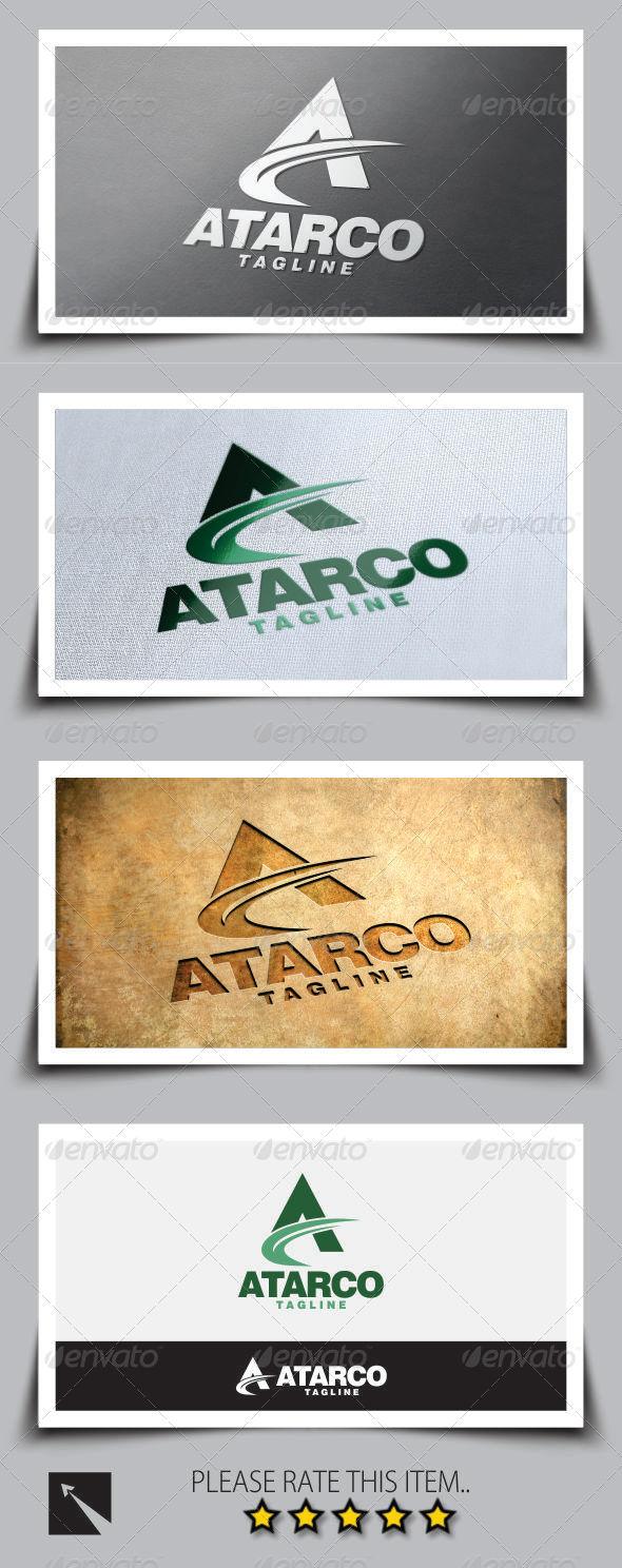 GraphicRiver Letter A Logo Template 8348483