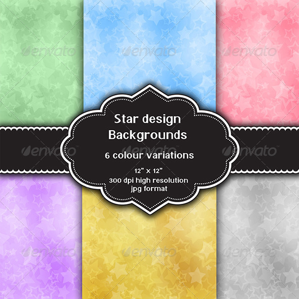 GraphicRiver Star Design Background 8348840