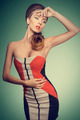 fashion female with vogue dress - PhotoDune Item for Sale