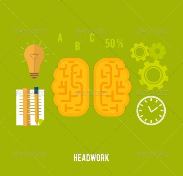 GraphicRiver Headwork Concept 8349585