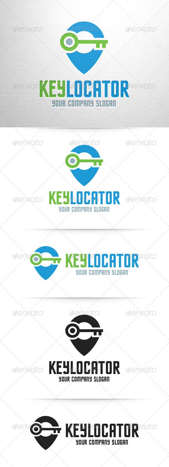 GraphicRiver Key Locator Logo Template 8349639