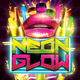 Neon Glow Flyer - GraphicRiver Item for Sale