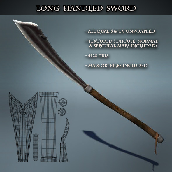 Long Handled Sword