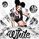 White Club Flyer Template - GraphicRiver Item for Sale