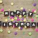 Happy Birthday in chocolate - PhotoDune Item for Sale