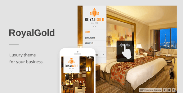RoyalGold - A Luxury Responsive WordPress Theme