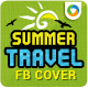 Summer Travel Facebook Cover Page - GraphicRiver Item for Sale