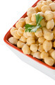 Closeup of a bowl with boiled chickpeas - PhotoDune Item for Sale